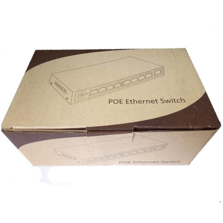 5 Port Switch with 4 port PoE,1000Mbit each port