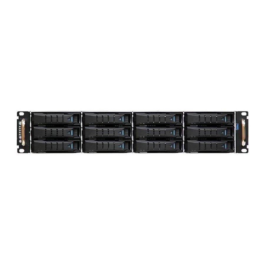 "19"" 2U - 12 Bay Hot Swap Server - 680mm - 144TB"