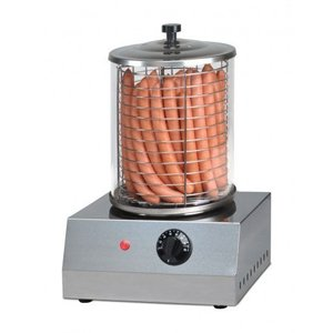 Saro Elektrische Worstenwarmer - Edelstaal - Ø 200 mm -  400x400x(H)400mm