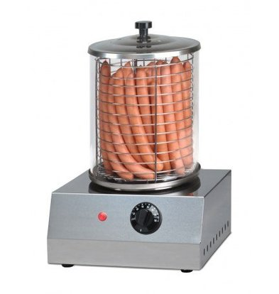 Saro Electric Sausage Warmer - Stainless Steel - Ø 200 mm - 400x400x (H) 400mm