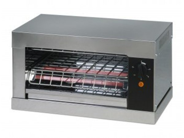 Saro Toaster just one terminal with time and crumble look - 44x26x (H) 25cm - 2000W