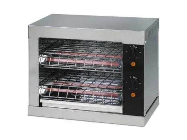 Saro Toaster 2 double KLEMS with timer - 44x26x (H) 38cm - 3000W