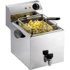 Saro Fryer mit Wasserhahn   8 Liter   3,25kW   260x450x (H) 340mm