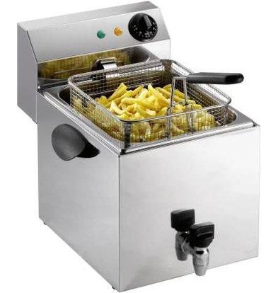 Saro Fryer mit Wasserhahn | 8 Liter | 3,25kW | 260x450x (H) 340mm
