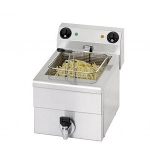 Saro Fritteuse Elektro-Ablassventil | 10 Liter | 3,25kW | 300x515x (H) 300mm