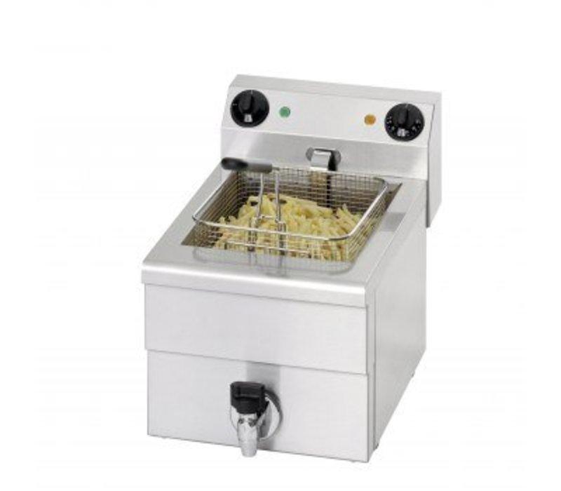 Saro Friteuse Elektrisch Aftapkraan | 10 Liter | 3,25kW | 300x515x(H)300mm