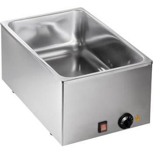 Saro Bain Marie | 1/1 GN | 1kW | 540x334x (H) 225mm - Made in Italy