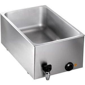 Saro Bain Marie | 1/1 GN + Faucet | 1kW | 545x334x (H) 225mm