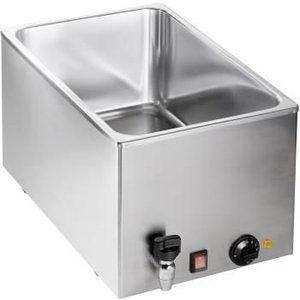 Saro Bain-Marie | 1/1 GN + drain valve | 1kW | 545xB334x (H) 290mm