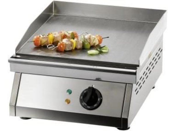 Saro Electric Griddle - Smooth - 39x50x (h) 24cm - 3kW