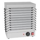Saro Rechaud für 10 Platten - Edelstahlgehäuse - 1200W - 365x245x (H) 440mm