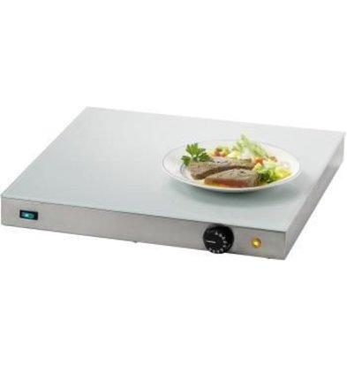 Saro Elektrische Warmhoudplaat - Glasplaat - 50x50x(h)7cm