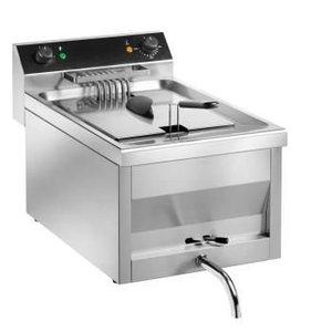 Saro Fryer | Model Gastro Line | With tap | 400V | 6kw | 9 Liter | 300x540x (H) 310 mm