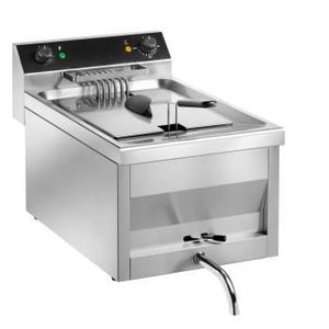 Saro Fryer | Model Gastro Line | With tap | 400V | 9kw | 12 Liter | 400x700x (H) 320 mm