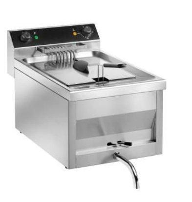 Saro Fryer | Model Gastro Line | With tap | 400V | 9kw | 12 Liter | 400x700x (H) 320 mm