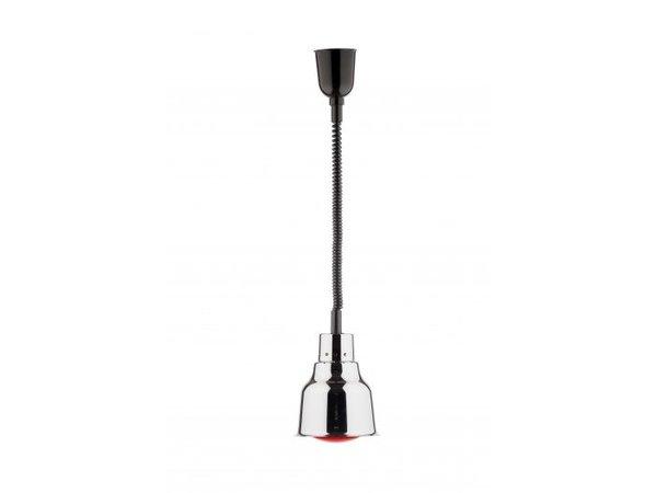 Saro Warming Lamp chrom Infrarot - 250W / 230V - Ø 225 mm