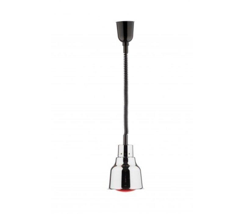 Saro Warming Lamp chrome infra-red - 250W / 230V - Ø 225 mm