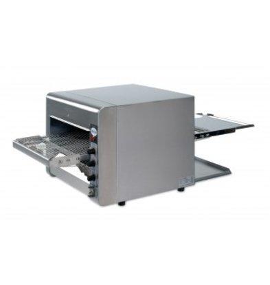Saro Gehen Sie durch Quarz Toaster - Pro - Edelstahl mit variabler Drehzahl - 47x105x (H) 40cm - 3600W