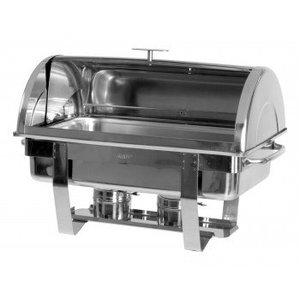 Saro Chafing Dish 1/1 GN | With Rolltop cover | 650x370x (H) 450mm