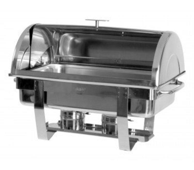 Saro Chafing Dish 1/1 GN | Met Roldeksel | 650x370x(H)450mm