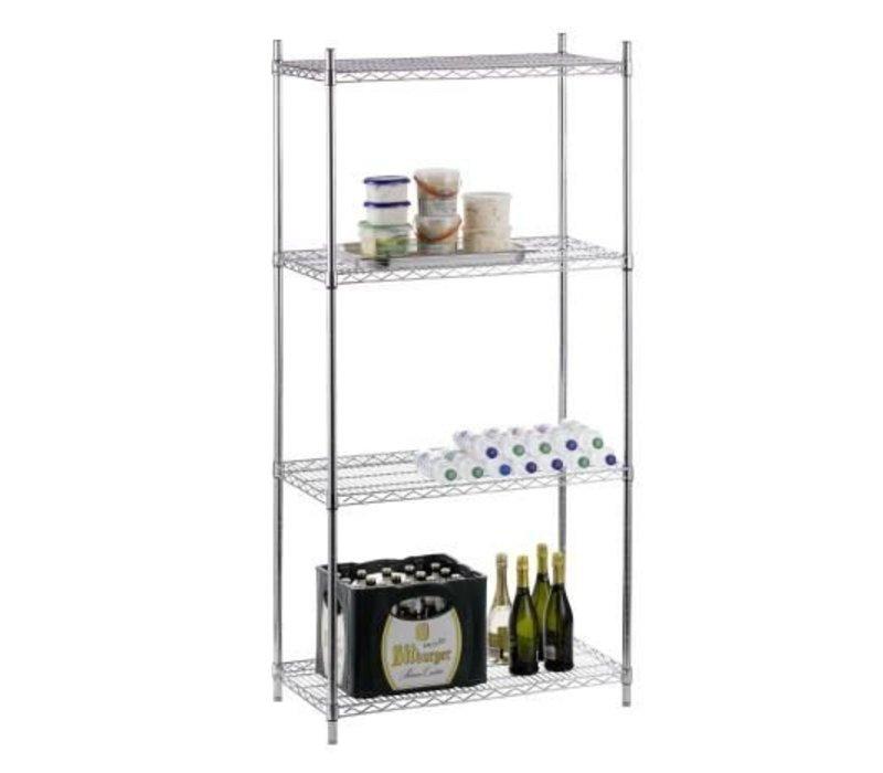 Saro Storage rack 500kg - 90x45x183cm