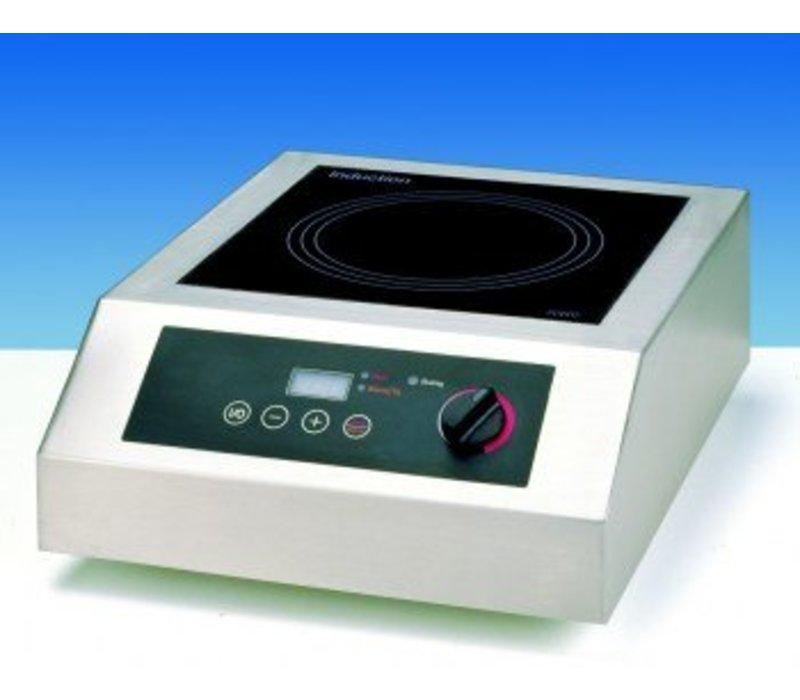 Saro Inductie kookplaat Digitaal - 38,5x52x(h)17,7 - 3500W/230V