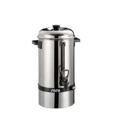 Saro Stainless Percolator | No Filter Needed | Ø235x (H) 480mm | 48 Cups | 6.8 Liter