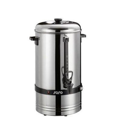 Saro Percolator RVS | Geen Filter Nodig | Ø275x(H)540mm | 78 Kopjes | 10 Liter