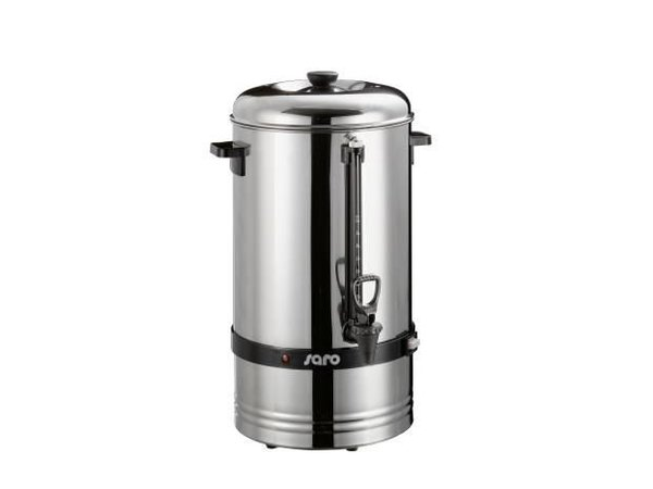 Saro Espressokocher Edelstahl   Kein Filter benötigt   Ø275x (H) 540mm   78 Tassen   10 Liter