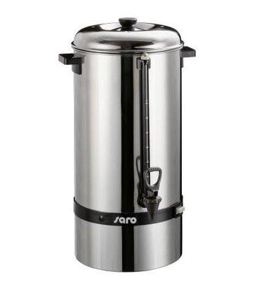 Saro Espressokocher Edelstahl | Kein Filter benötigt | Ø275x (H) 600mm | 100 Tassen | 15 Liter