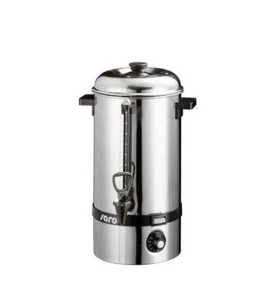 Saro Warmwasserboiler SS / Glühwein Kessel | Hahn | Ø225mm | 10 Liter