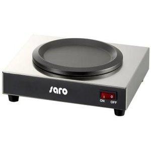 Saro Elektrische Warmhoudplaat - 22x21x(h)8cm - Economic