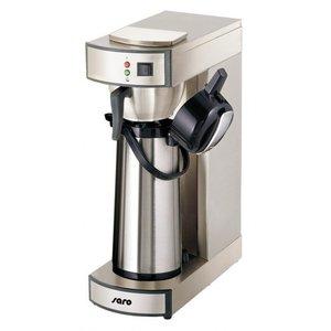 Saro Kaffee Thermoskanne aus Edelstahl | Kapazität 2.2 Liter | 1,9kW | 195x360x (H) 550mm