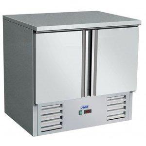 Saro Kühle Workbench - SS - 2 Türen - 90x70x (h) 85 / 88cm