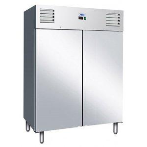 Saro Kühlschrank - Edelstahl - 1400 Liter - 2 Jahre Garantie