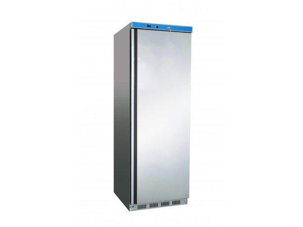 Saro Vrieskast - 60x58x(h)185cm - RVS - 340 Liter - 2 jaar garantie