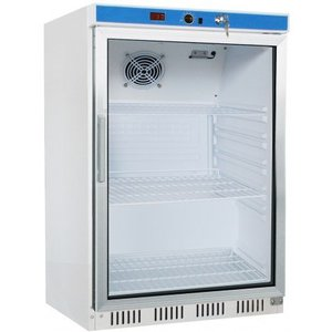Saro Glass door refrigerator - 130 liters - 60x58x (h) 85cm
