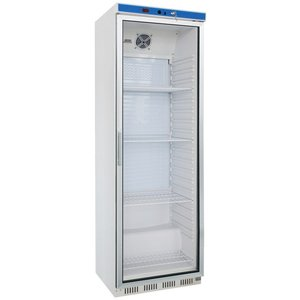 Saro Glass door refrigerator - 400 liters - 60x58x (h) 185cm