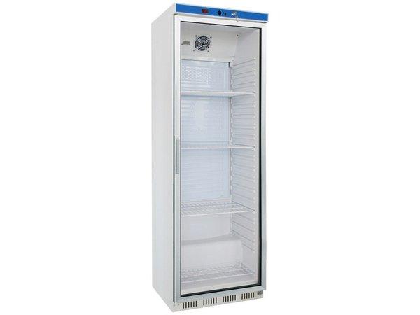 Saro Glass door refrigerator - 400 liters - 60x58x (h) 185cm