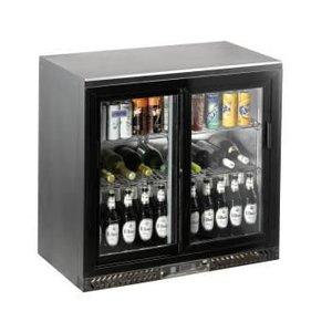Saro Bar Cooler with Sliding Doors SC 250 SD
