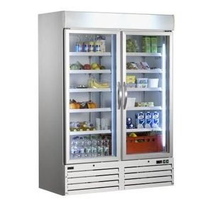 Saro Glass door refrigerator - 920 liters - 137x72x (h) 199