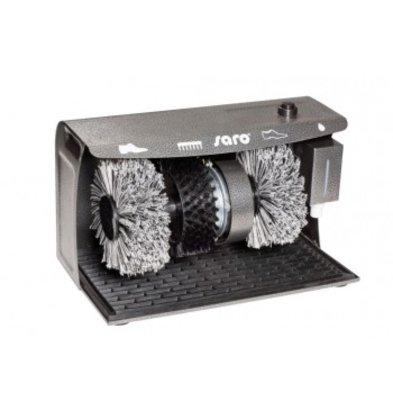 Saro Shoe shine machine DELUXE   3 Brushes   400x240x258 (h) mm