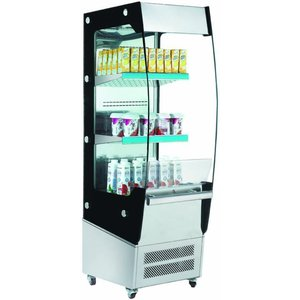 Saro Refrigerated display - Stainless steel - 180 liters - With Revealer