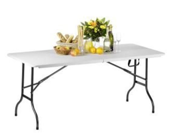 Saro Folding table (foldable into a suitcase) - Max 100 kg - 72 (h) x183 (b) cm