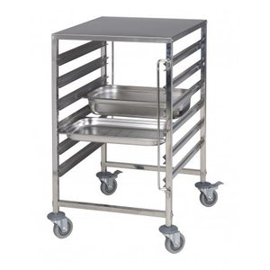 Saro Trolley with stainless steel working top Model NOE
