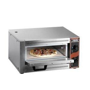 Saro Pizza Oven Enkel Elektrisch | 1 Pizza 33cm | 2,5kW | 530x430x(H)290mm