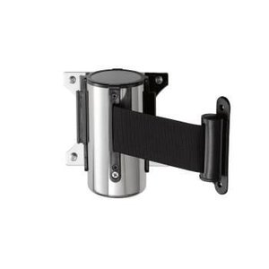 Saro Wall system barrier post Stainless Steel Black Basic 3M