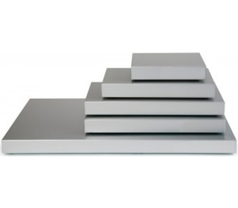 Saro Koelplaat Model Stay Cool - 1/1 GN - Aluminium - 530x325x(H)36mm