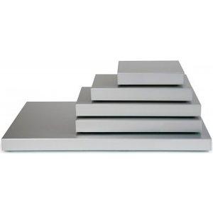 Saro Koelplaat Model Stay Cool - 1/2 GN - Aluminium - 325x265x(H)36mm