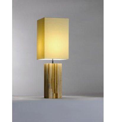 Saro Table Lamp Series Zenjoy   Model Halona   Wood Cotton   40W   220x220x (H) 675mm